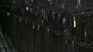 Łaźnia hakowa w kopalni - kłódki