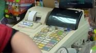 Kasa fiskalna w sklepie