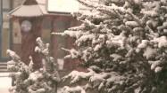 Padający śnieg