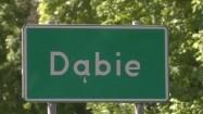 Dąbie - tablica miejscowości