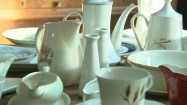 Porcelanowa zastawa