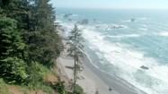Plaża nad Pacyfikiem