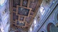Sklepienie bazyliki św. Bartłomieja w Rzymie