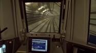 Metro przejeżdżające przez podziemia