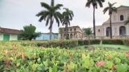 Plac Mayor i Kościół Trójcy Przenajświętszej w Trinidadzie na Kubie