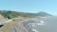 Droga nad brzegiem Pacyfiku