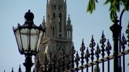 Wieża ratusza w Wiedniu