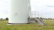 Wejście do elektrowni wiatrowej