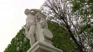 Rzeźba w Schönbrunn w Wiedniu