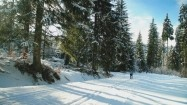 Góry Bialskie zimą