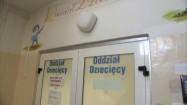 Wejście na oddział dziecięcy