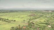 Krajobraz Kuby w pochmurny dzień