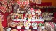 Stoisko z wielkanocnymi słodyczami