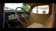 Packard 120 - wnętrze pojazdu