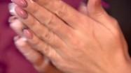 Smarowanie dłoni