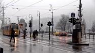 Przystanek tramwajowy w Budapeszcie