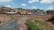 Kibera - dzielnica slumsów w Nairobi