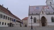 Plac świętego Marka w Zagrzebiu