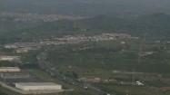 Zabudowania i zieleń u podnóża Etny