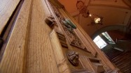 Drewniane drzwi do Palazzo Spadaro w Scicli