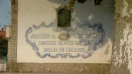 Budynek winnicy Adega Regional de Colares w Portugalii