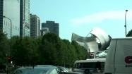 Millenium Park i wieżowce w Chicago