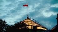 Przeszklony dach Sejmu RP