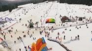 Stok narciarski w Górach Bialskich
