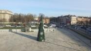 Plac przed Muzeum Narodowym w Krakowie