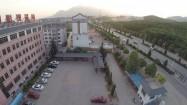 Chiny - zabudowania w pobliżu klasztoru Shaolin