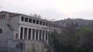 Stoa Attalosa i Akropol w Atenach