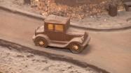 Samochód - figurka z czekolady