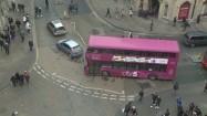 Piętrowy autobus w Oksfordzie