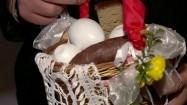 Koszyk wielkanocny ze święconką