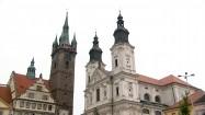 Czarna Wieża w miejscowości Klatovy