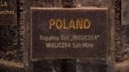 Tablica Listy Światowego Dziedzictwa UNESCO w Wieliczce