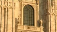 Elewacja Katedry Narodzin św. Marii w Mediolanie