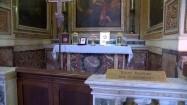 Kaplica boczna w bazylice św. Bartłomieja w Rzymie