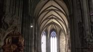 Wnętrze katedry św. Szczepana w Wiedniu