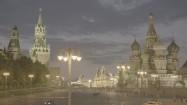 Plac Czerwony w Moskwie wieczorem
