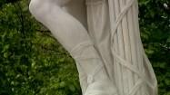 Rzeźba rzymskiego legionisty w Schönbrunn w Wiedniu