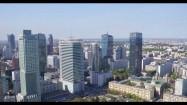 Wieżowce w centrum Warszawy