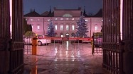Ministerstwo Zdrowia - brama wjazdowa