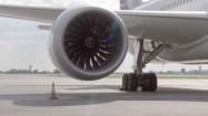 Silnik samolotu pasażerskiego