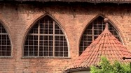 Okna Zamku Kapituły Warmińskiej w Olsztynie