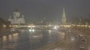 Rzeka Moskwa i mury Kremla