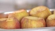 Wydrążone jabłka