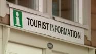 Informacja turystyczna - napis po angielsku