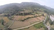 Chiny - podnóże gór Song Shan