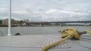 Pływanie łódką po Wiśle w Warszawie